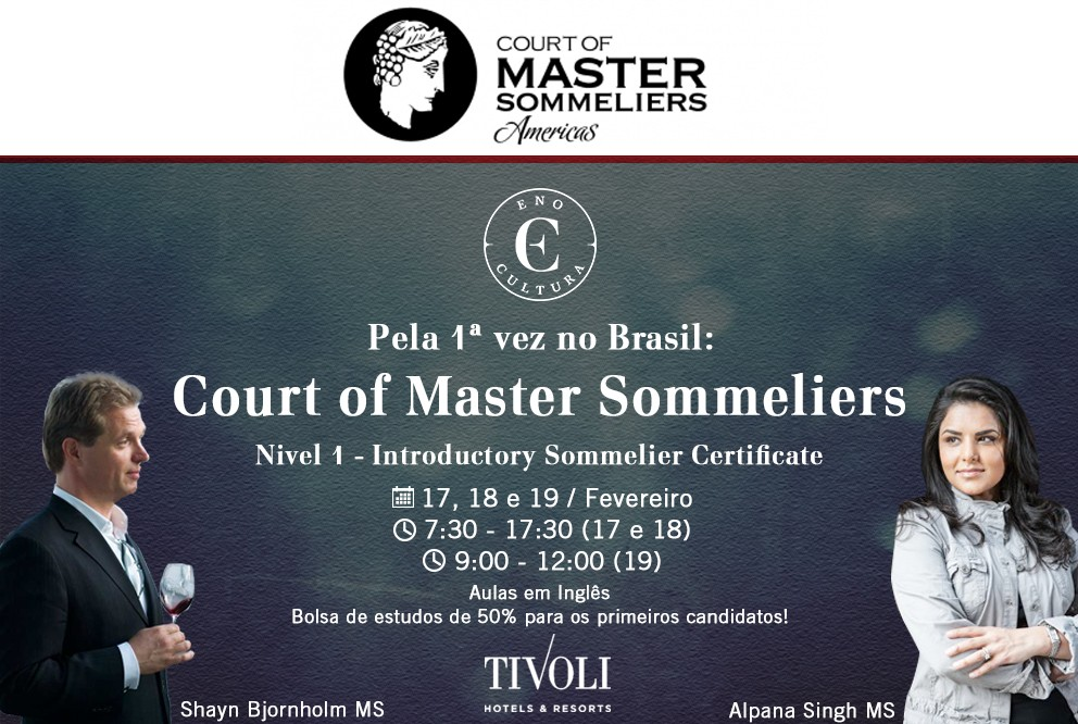 Court of Master Sommeliers no Brasil