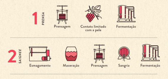 metodos de producao whats on enocultura 570x270 - Métodos para produção de Vinhos Rosés