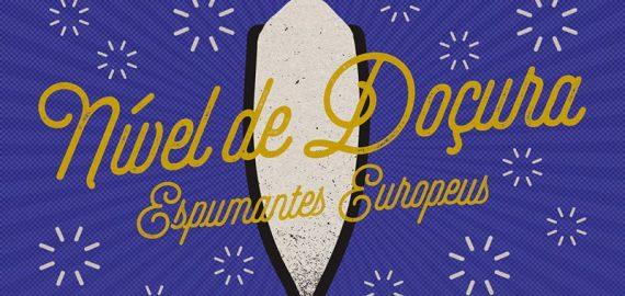 nivel docura dos vinhos e espumantes europeus 570x270 - Nível de doçura dos vinhos espumantes europeus