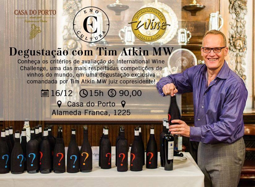 Um resumo do evento com o Master of Wine Tim Atkin