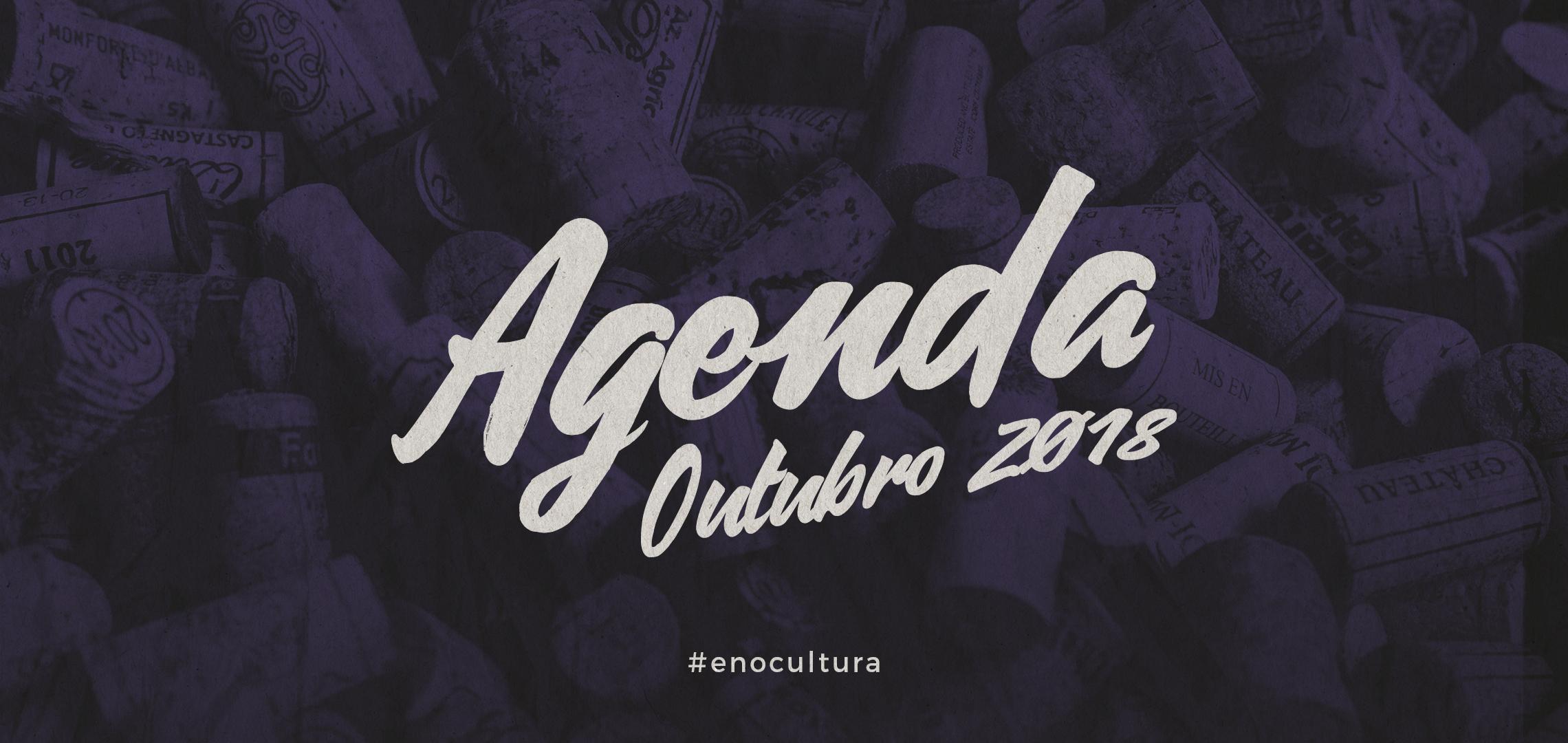 Agenda de Vinhos: Outubro