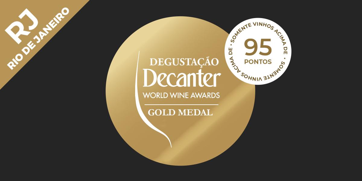 Arte loja Decanter RJ - Degustação Decanter World Wine Awards