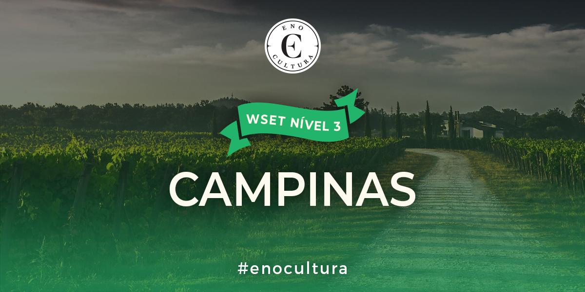 Campinas 3 - WSET Nível 3