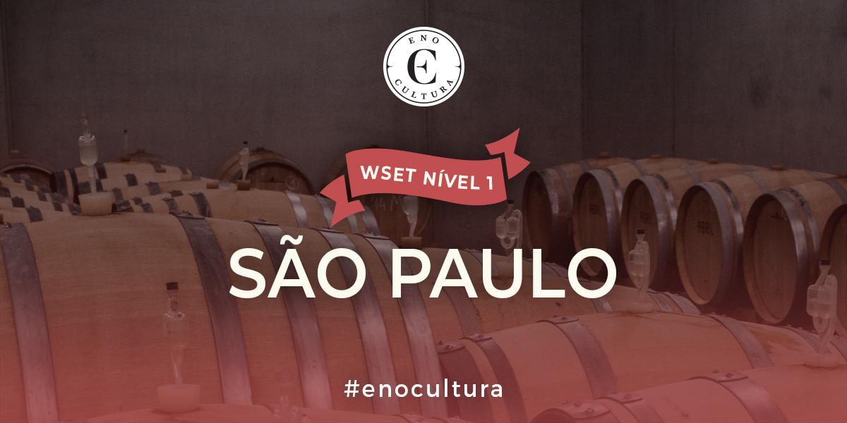 Sao Paulo 1 - WSET Nível 1