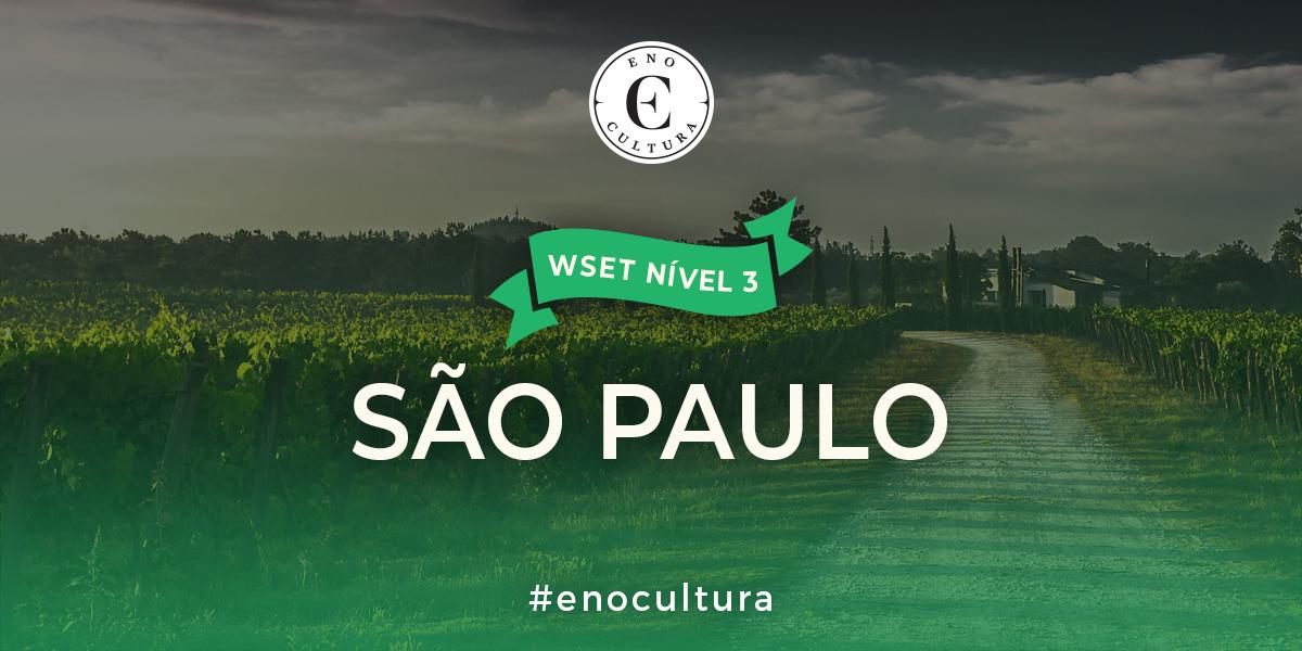 Sao Paulo 3 - WSET Nível 3