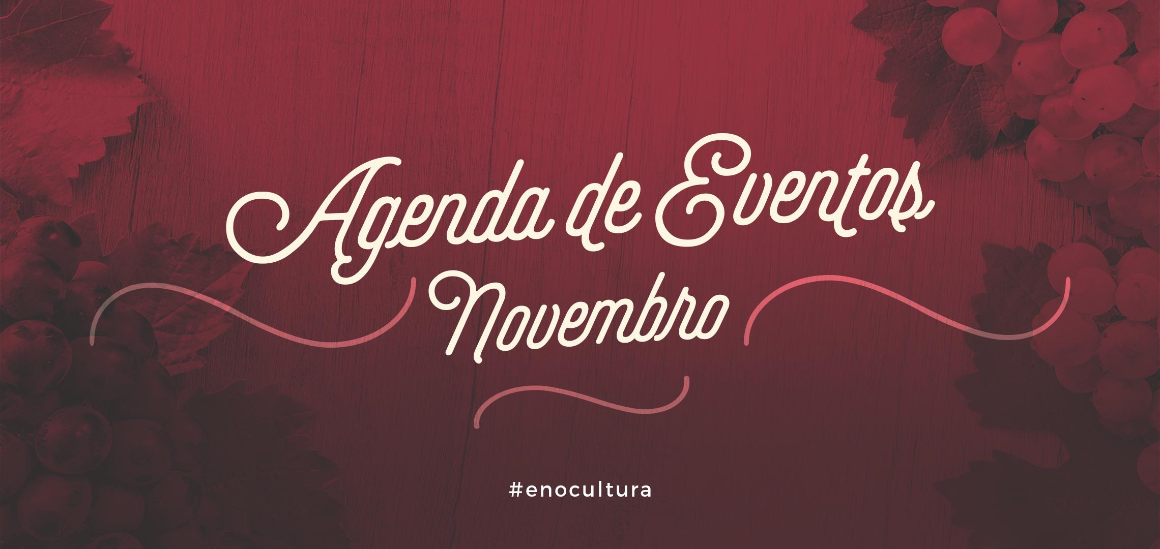 Agenda de Eventos: Novembro